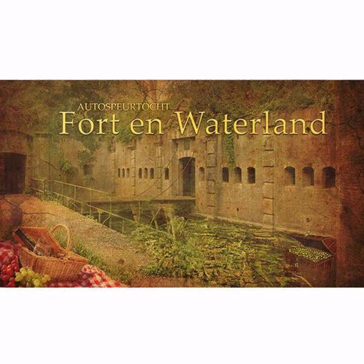 Afbeelding van Autospeurtocht 'Fort en Waterland'
