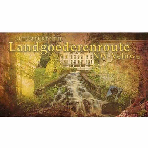 Afbeelding van Autospeurtocht 'Landgoederenroute NW-Veluwe'